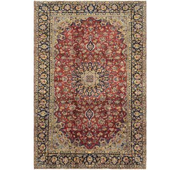 Image of  7' 9 x 11' 6 Isfahan Persian Rug