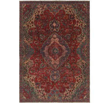 Image of 7' 4 x 10' 7 Tabriz Persian Rug