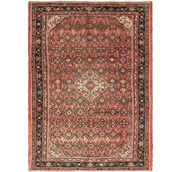 7' 1 x 10' 1 Hossainabad Persian Rug main image