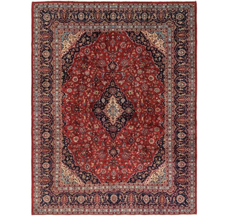 302cm x 395cm Mashad Persian Rug
