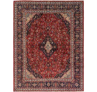 9' 11 x 12' 11 Mashad Persian Rug