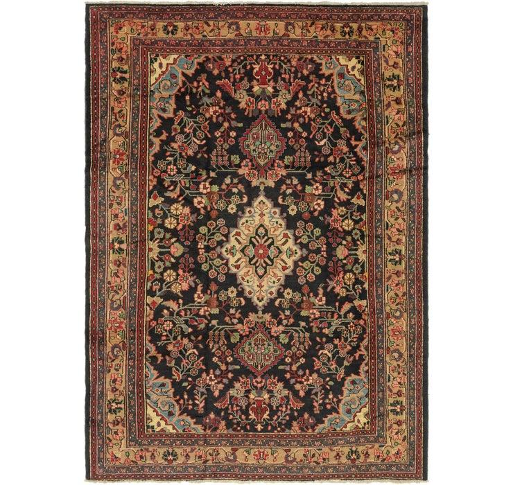 215cm x 302cm Hamedan Persian Rug