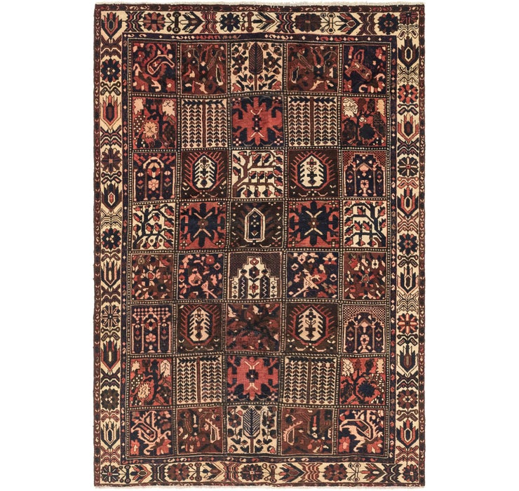Image of 203cm x 312cm Bakhtiar Persian Rug