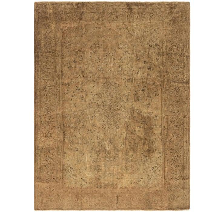 8' 2 x 11' 2 Kashan Persian Rug