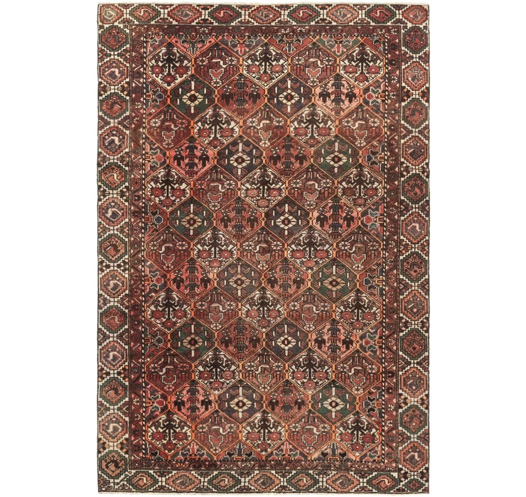 6' 3 x 9' 4 Bakhtiar Persian Rug