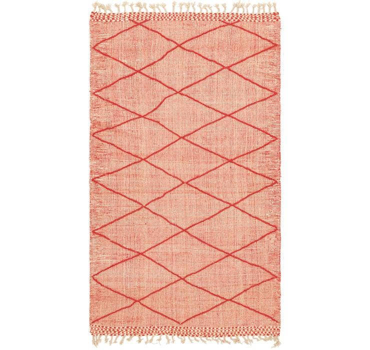 4' 9 x 8' 5 Moroccan Rug