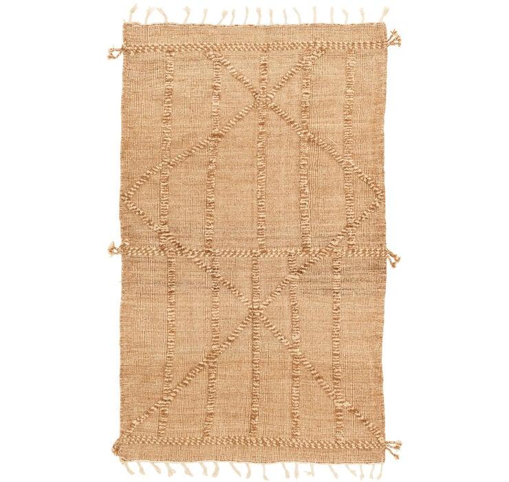 5' x 8' 2 Moroccan Rug