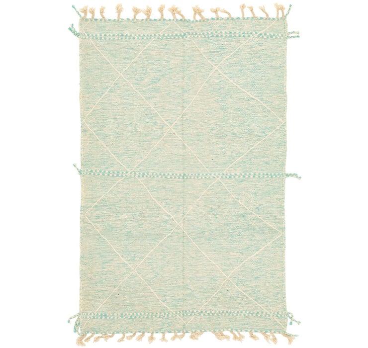 4' 9 x 7' 4 Moroccan Rug