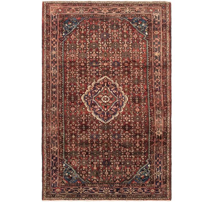 198cm x 315cm Hossainabad Persian Rug