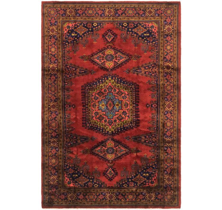 7' x 10' 5 Viss Persian Rug