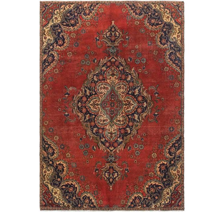 5' x 10' 1 Tabriz Persian Runner Rug