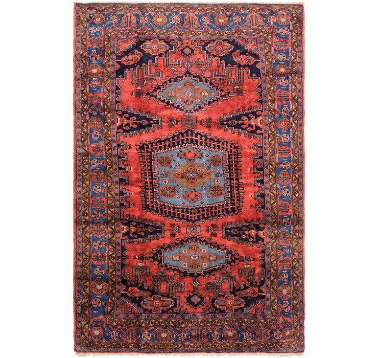 7' 4 x 11' 3 Viss Persian Rug