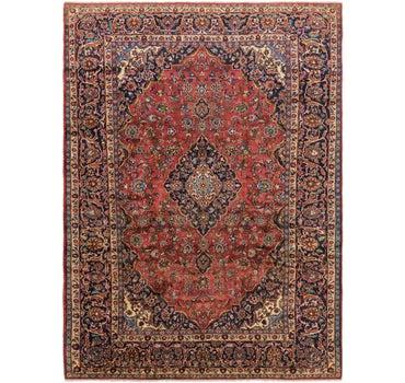 9' 6 x 13' Mashad Persian Rug main image