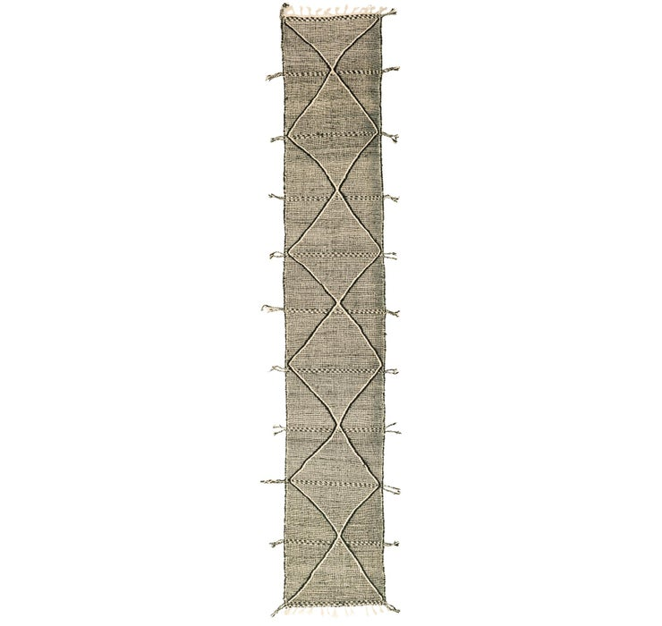 Image of 2' 8 x 16' 5 Moroccan Runner Rug