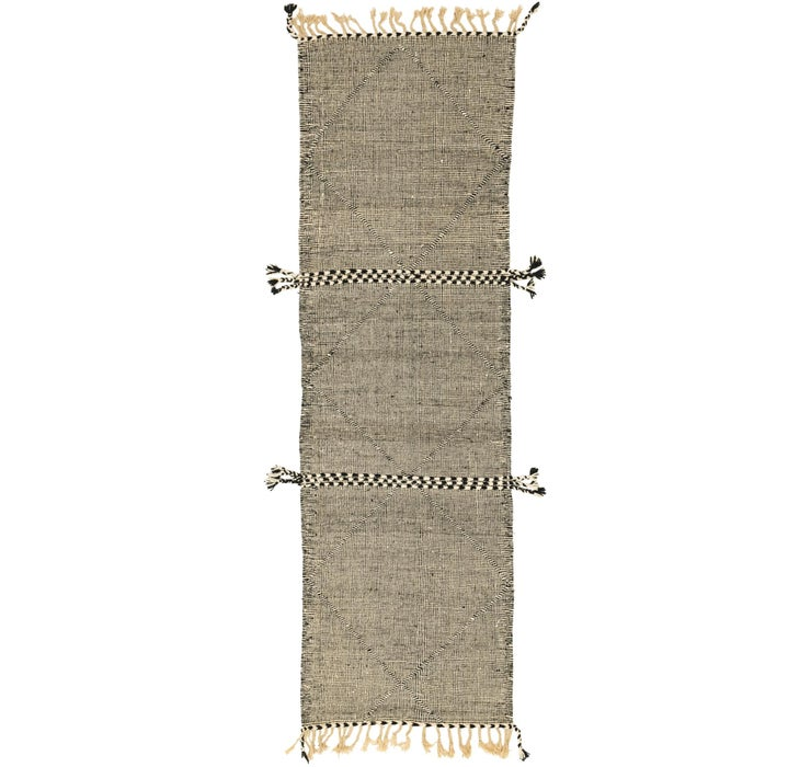 3' x 10' Moroccan Runner Rug