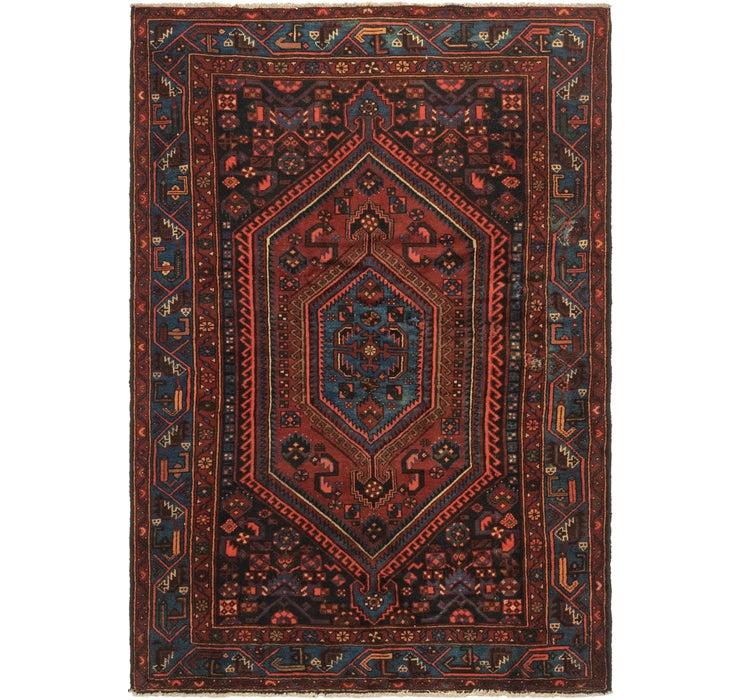 4' 9 x 7' Zanjan Persian Rug