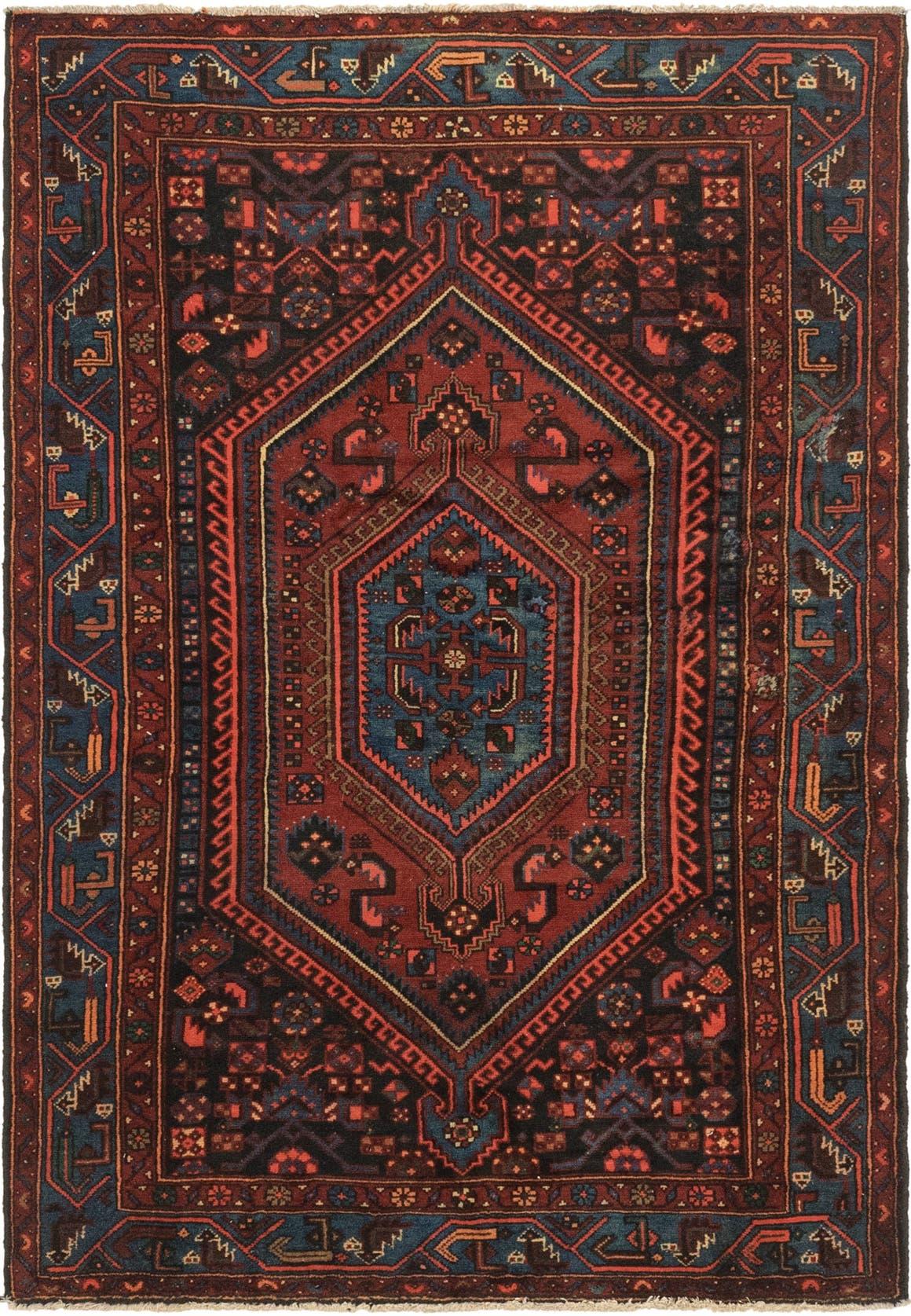 4' 9 x 7' Zanjan Persian Rug main image