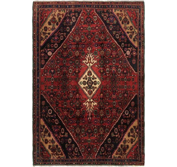5' 7 x 8' 7 Hamedan Persian Rug
