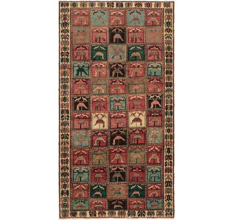 4' 9 x 9' 2 Bakhtiar Persian Rug