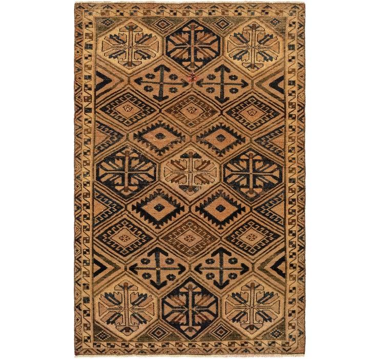 5' 2 x 8' Shiraz Persian Rug
