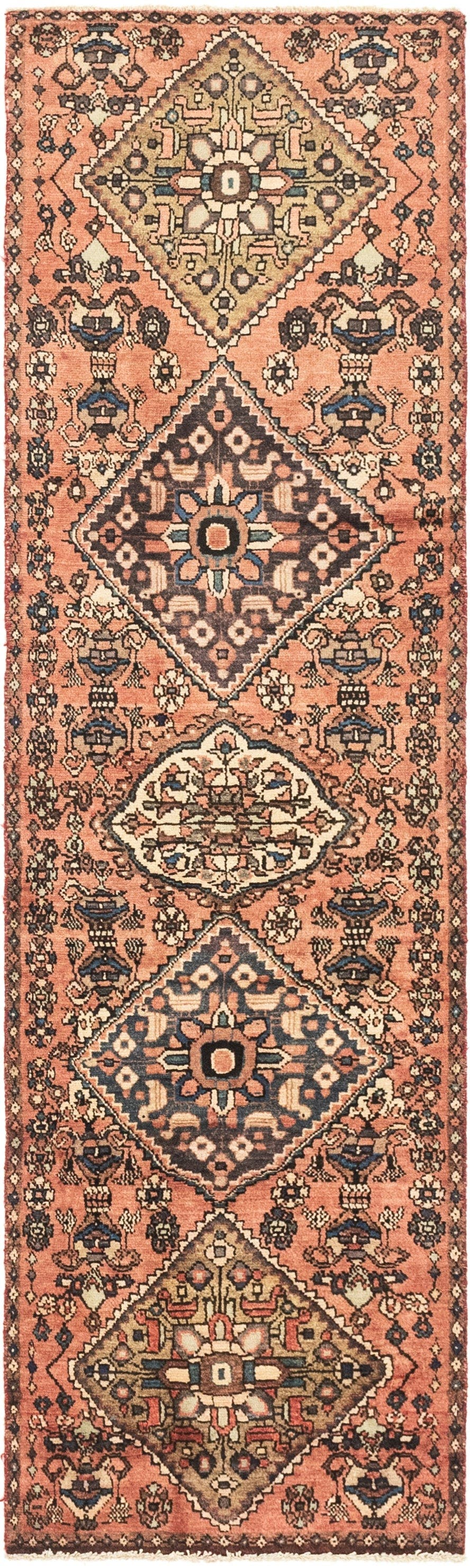 2' 5 x 8' 8 Hossainabad Persian Runner Rug main image