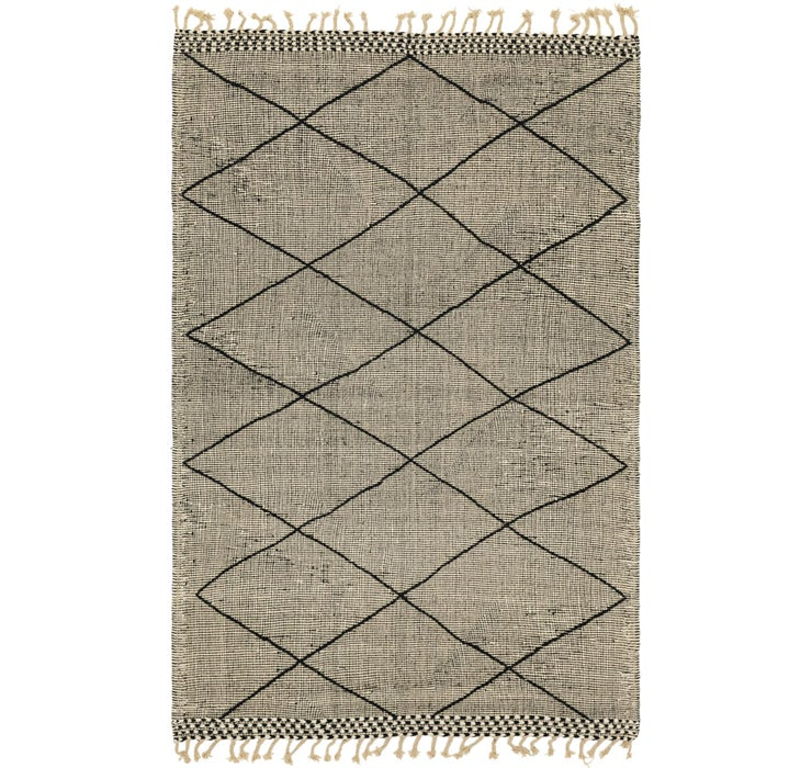 6' 2 x 9' 6 Moroccan Rug