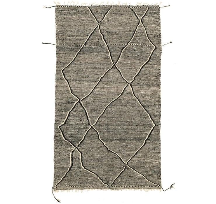 5' x 8' 4 Moroccan Rug