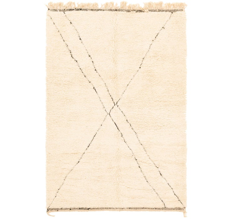 5' 1 x 7' 6 Moroccan Rug