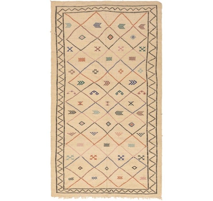 7' 1 x 13' Moroccan Rug