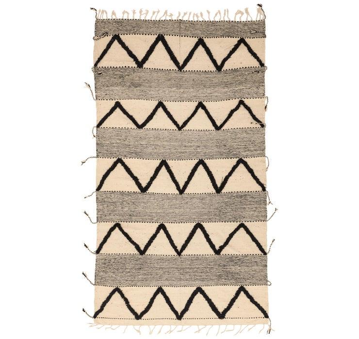 Image of 7' 6 x 13' Moroccan Rug