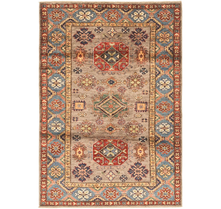 4' x 5' 9 Kazak Oriental Rug