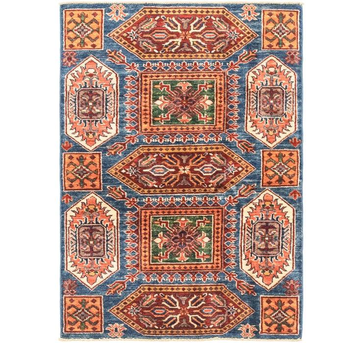 3' x 4' 5 Kazak Oriental Rug