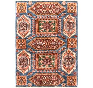 3' x 4' 5 Kazak Oriental Rug main image