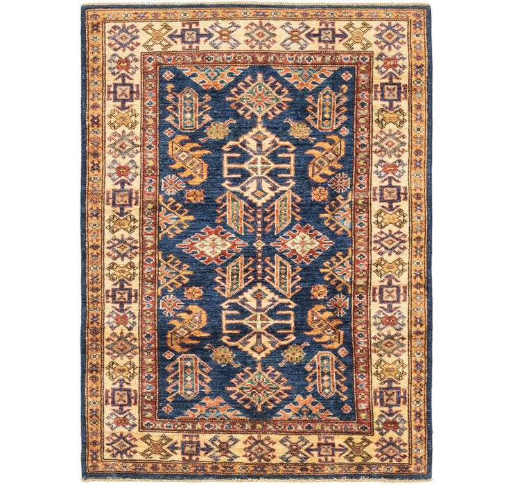 3' 4 x 4' 5 Kazak Oriental Rug