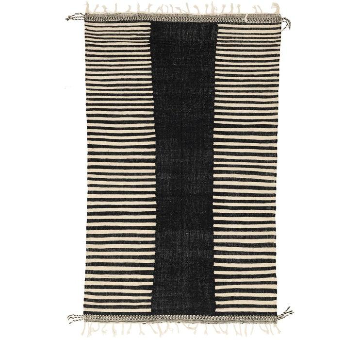 7' x 11' 8 Moroccan Rug