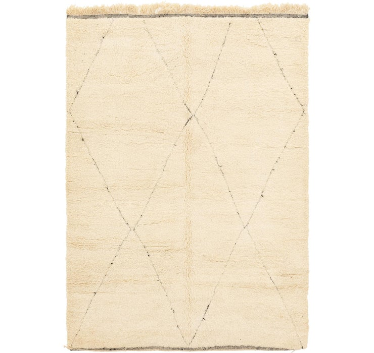 6' 9 x 9' 8 Moroccan Rug