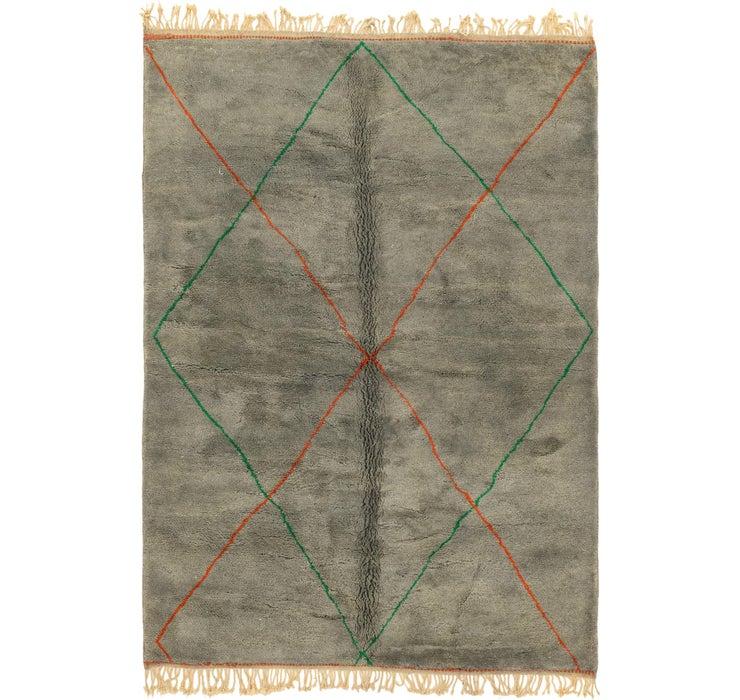 7' x 10' 2 Moroccan Rug