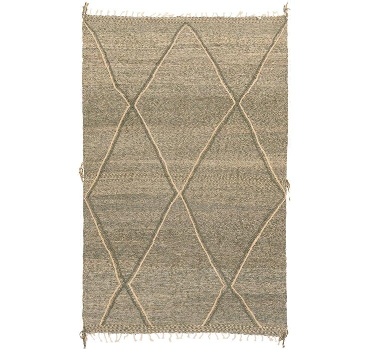 6' 11 x 11' 6 Moroccan Rug