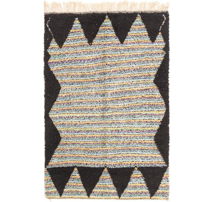 Image of 5' 5 x 8' 4 Moroccan Rug