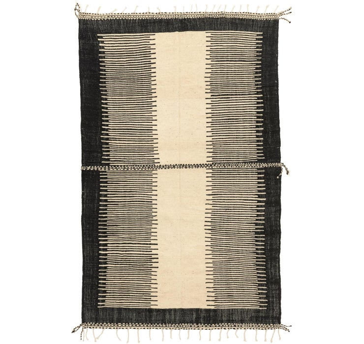 7' 5 x 11' 2 Moroccan Rug