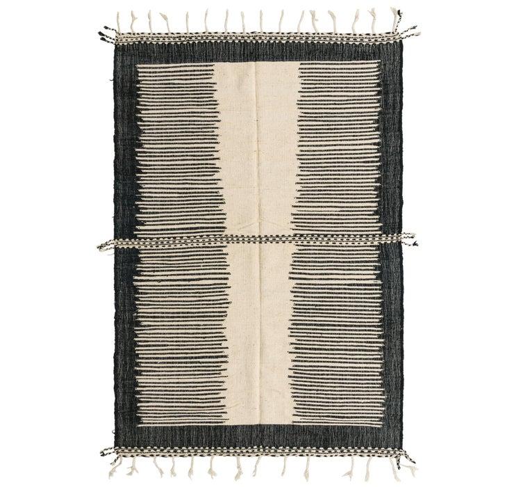 6' 11 x 10' 4 Moroccan Rug