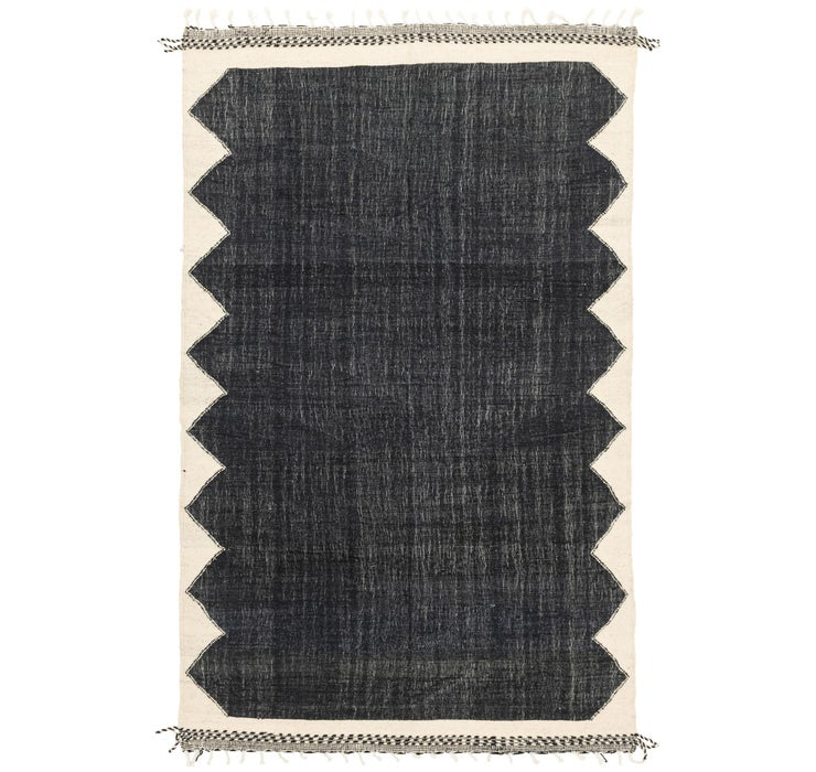 6' 9 x 10' 6 Moroccan Rug