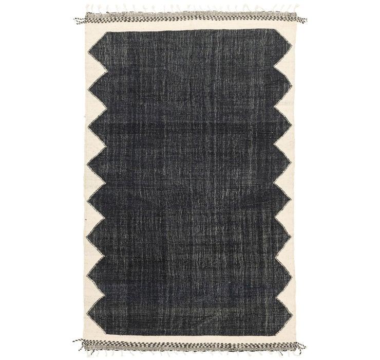 Image of 6' 9 x 10' 6 Moroccan Rug