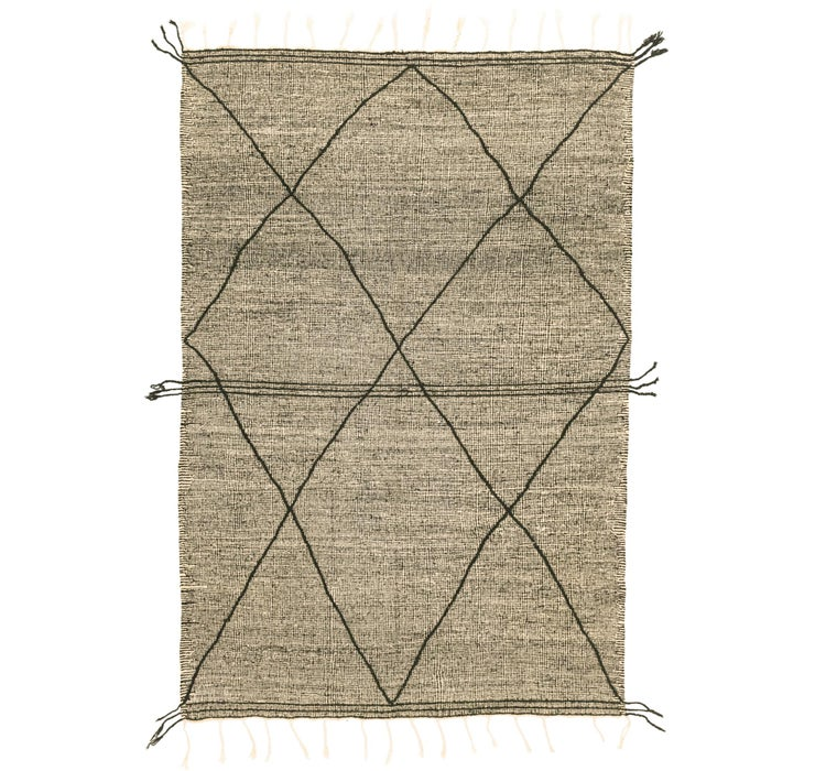 6' 6 x 10' 4 Moroccan Rug
