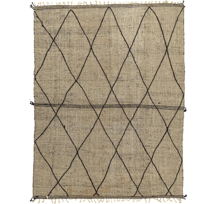 10' 4 x 12' 11 Moroccan Rug