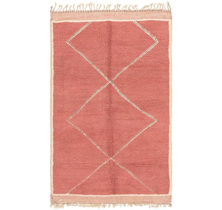 5' 2 x 8' 7 Moroccan Rug