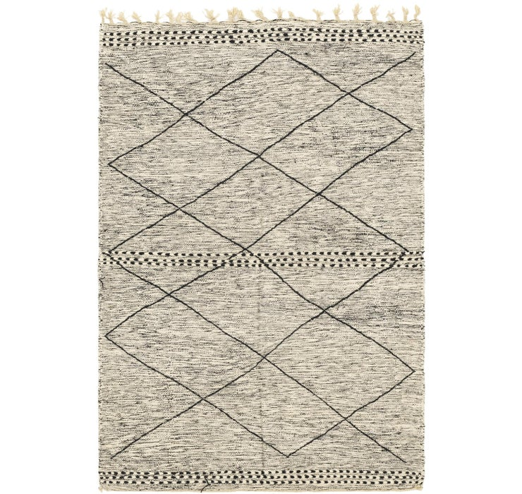 5' 6 x 8' 9 Moroccan Rug