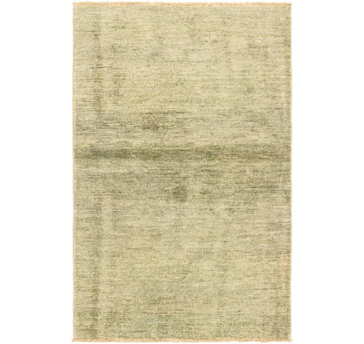 Image of 2' 6 x 4' Over-Dyed Ziegler Orien...