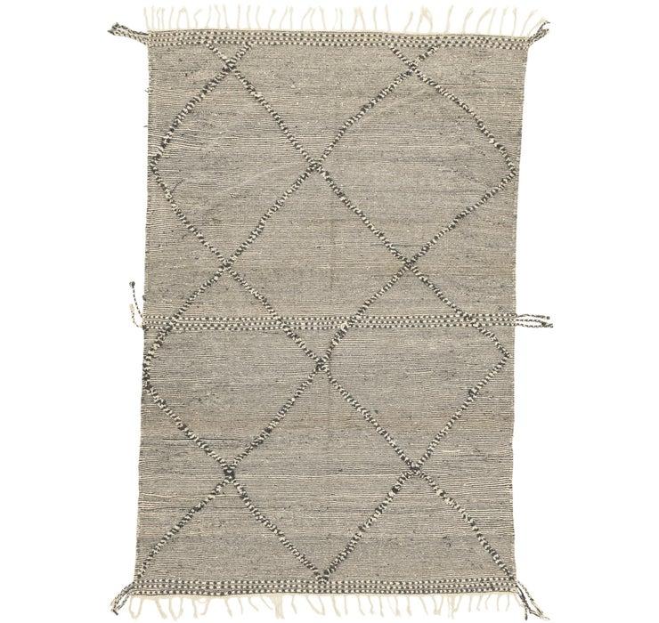 6' 8 x 9' 10 Moroccan Rug