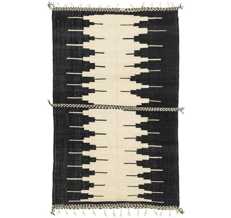 6' 10 x 11' 9 Moroccan Rug